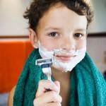 Afeitado natural