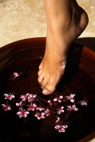 Cuidado naturales de los pies