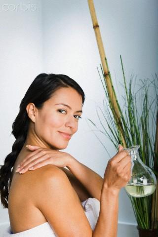 Aceites esenciales sobre la piel