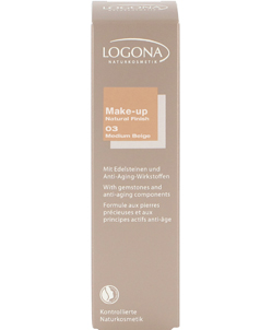 Maquillaje Fluido Natural Finish 03 Medium Beige